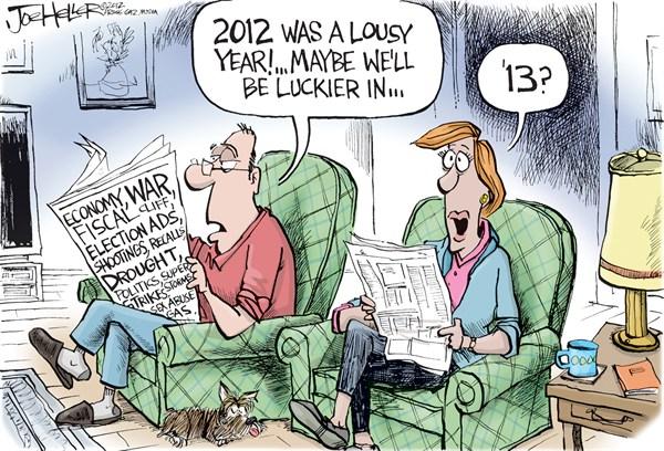6 γελοιογραφίες για τη νέα χρονιά [εικόνες]