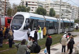 Συρμός του τραμ σκότωσε ηλικιωμένη περαστική