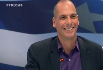 Το επεισόδιο του Βαρουφάκη με το δημοσιογράφο του Bloomberg (βίντεο)