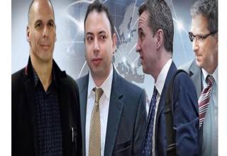 Τηλεδιάσκεψη Βαρουφάκη με Μαζούχ, Γκογιάλ και Κοστέλο