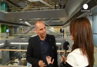Βαρουφάκης στο euronews: «Είμαστε κοντά σε συμφωνία» (βίντεο)