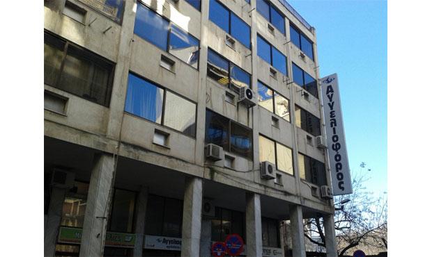 Συγκέντρωση εργαζομένων του «Αγγελιοφόρου» στο Δικαστικό Μέγαρο Θεσσαλονίκης