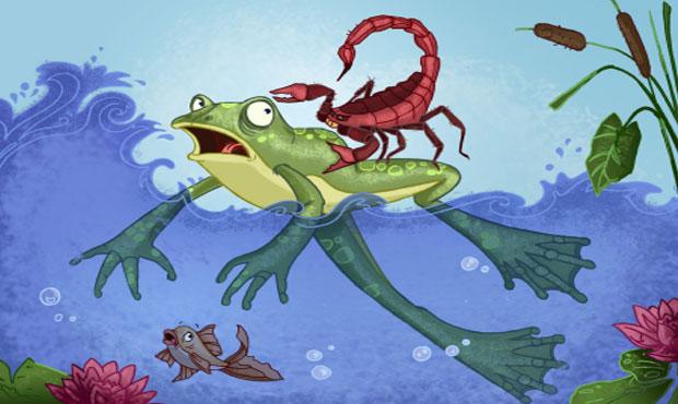 Ο σκορπιός και ο βάτραχος