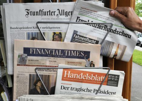 Τα γερμανικά ΜΜΕ