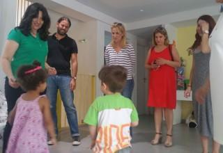 Τον Ξενώνα Βρεφών SOS επισκέφθηκε η Περιφερειάρχης Ρένα Δούρου