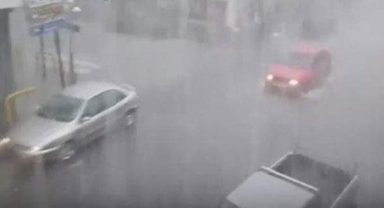 Σε κατάσταση έκτακτης ανάγκης η Μεγαλόπολη από τη σφοδρή βροχόπτωση