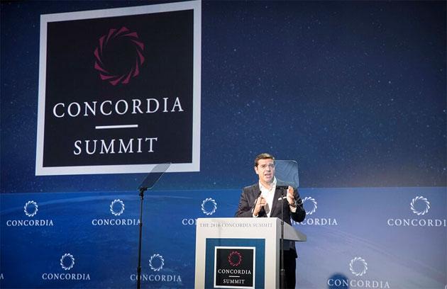 H ομιλία Τσίπρα στη Σύνοδο Concordia και η συνάντηση με Μπάιντεν