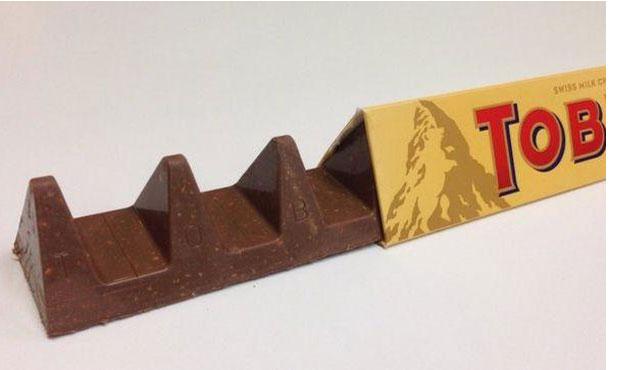 Χρήστες τρολάρουν τη νέα Toblerone