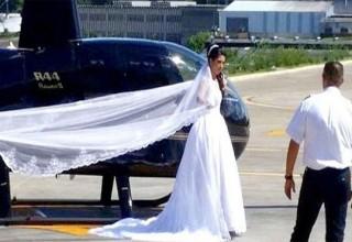 Νύφη σκοτώθηκε λίγο πριν φτάσει στο γάμο με ελικόπτερο